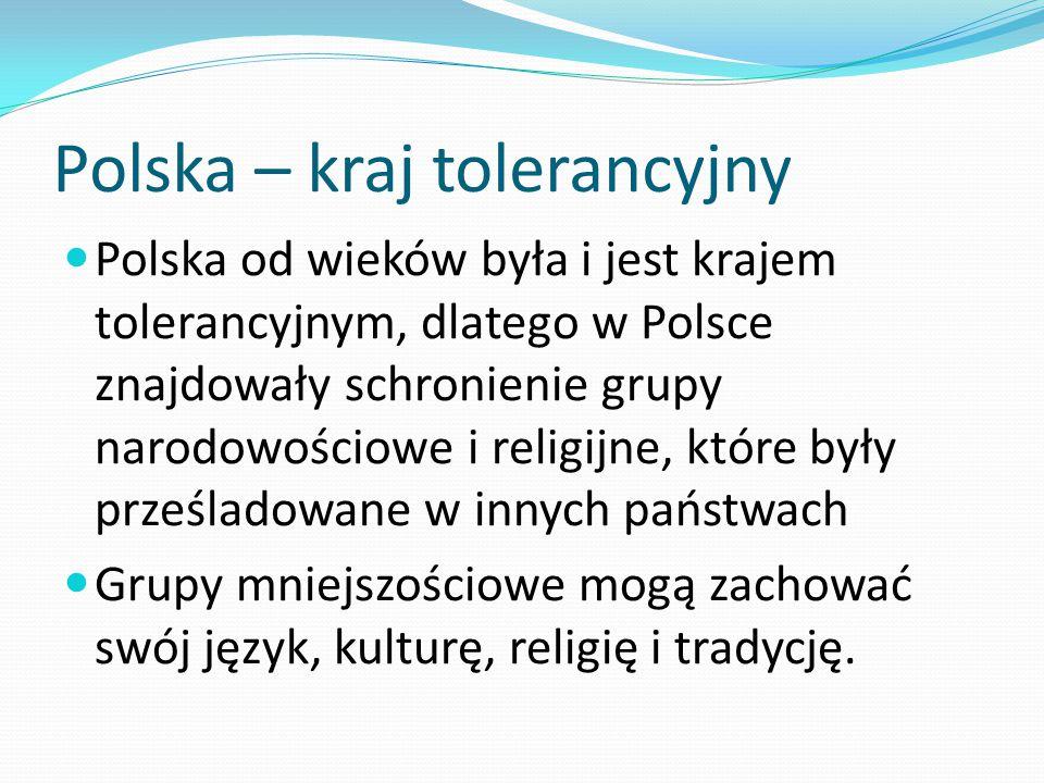 Polska – kraj tolerancyjny