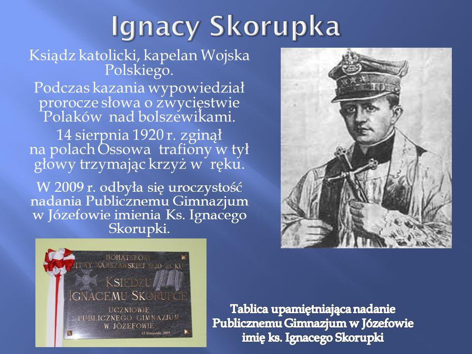 Ksiądz katolicki, kapelan Wojska Polskiego.