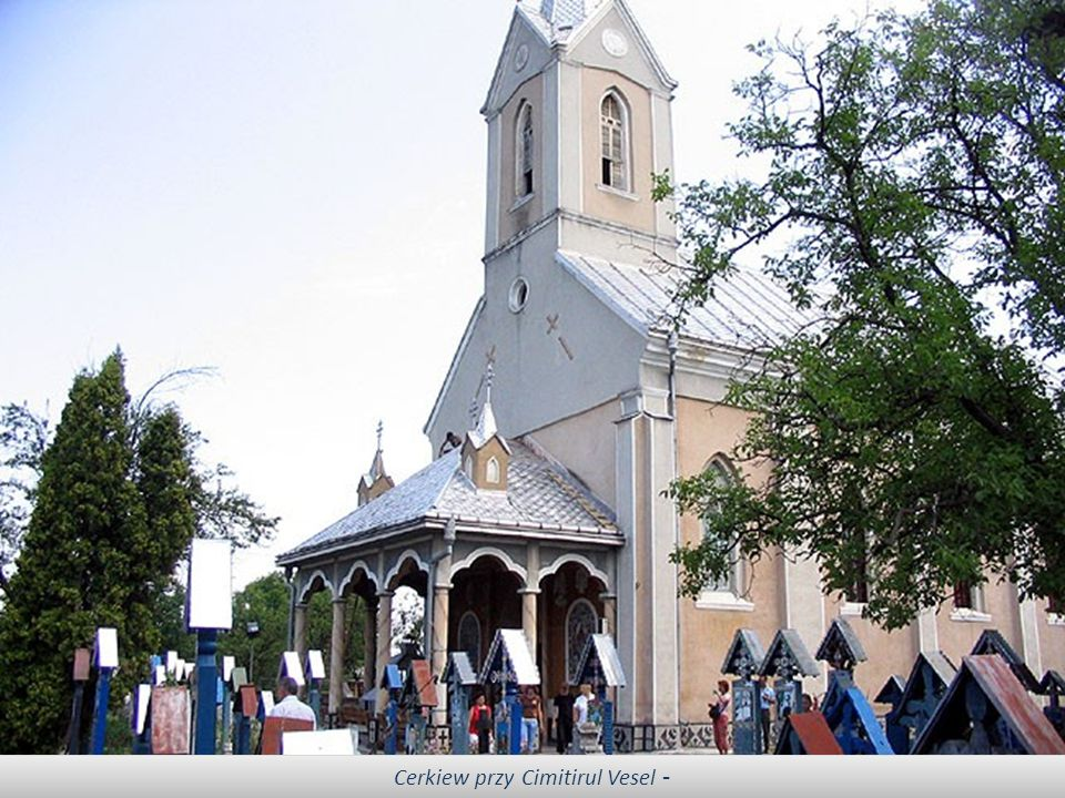 Cerkiew przy Cimitirul Vesel -