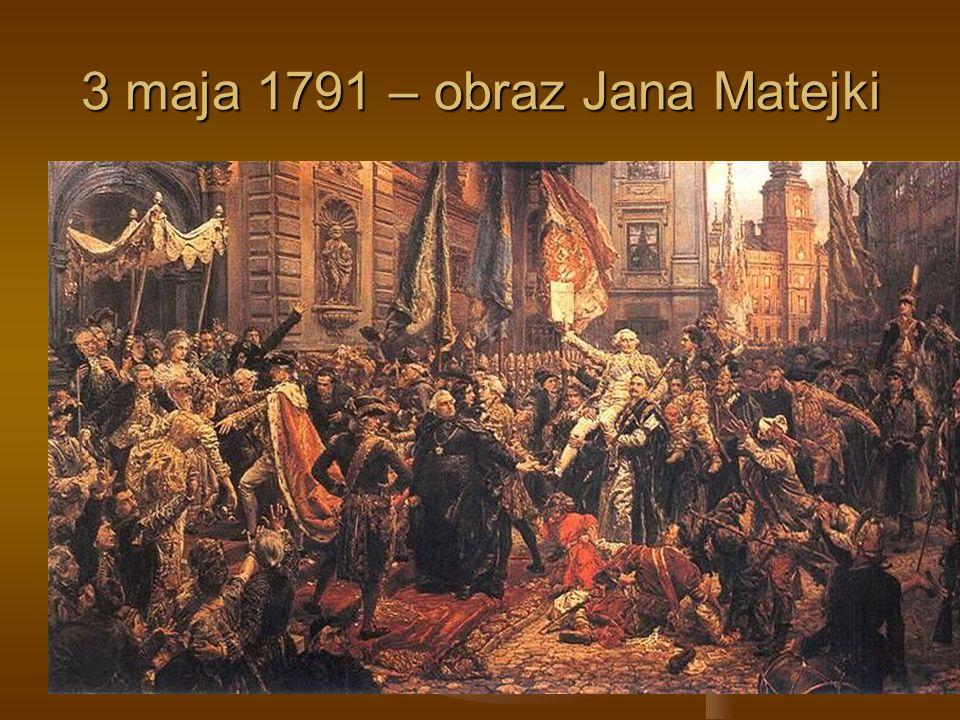 3 maja 1791 – obraz Jana Matejki
