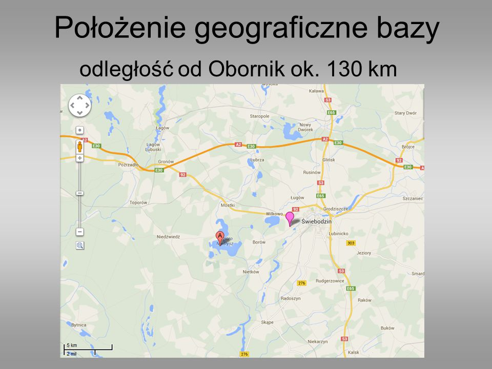 Położenie geograficzne bazy