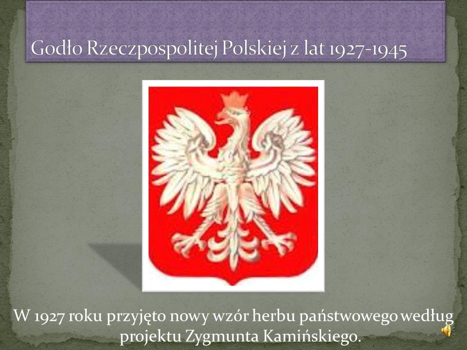 Godło Rzeczpospolitej Polskiej z lat 1927-1945