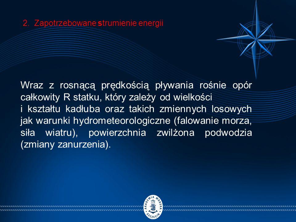 2. Zapotrzebowane strumienie energii