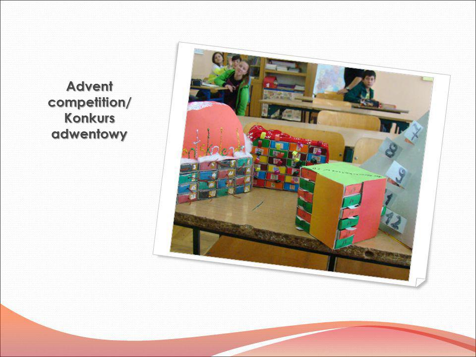 Advent competition/ Konkurs adwentowy