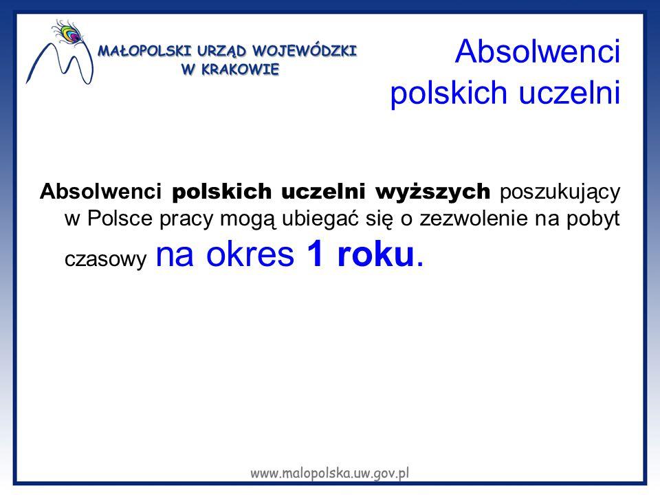 Absolwenci polskich uczelni
