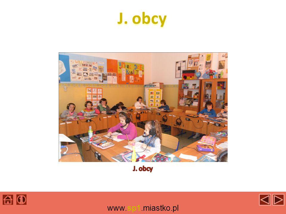 J. obcy J. obcy www.sp1.miastko.pl