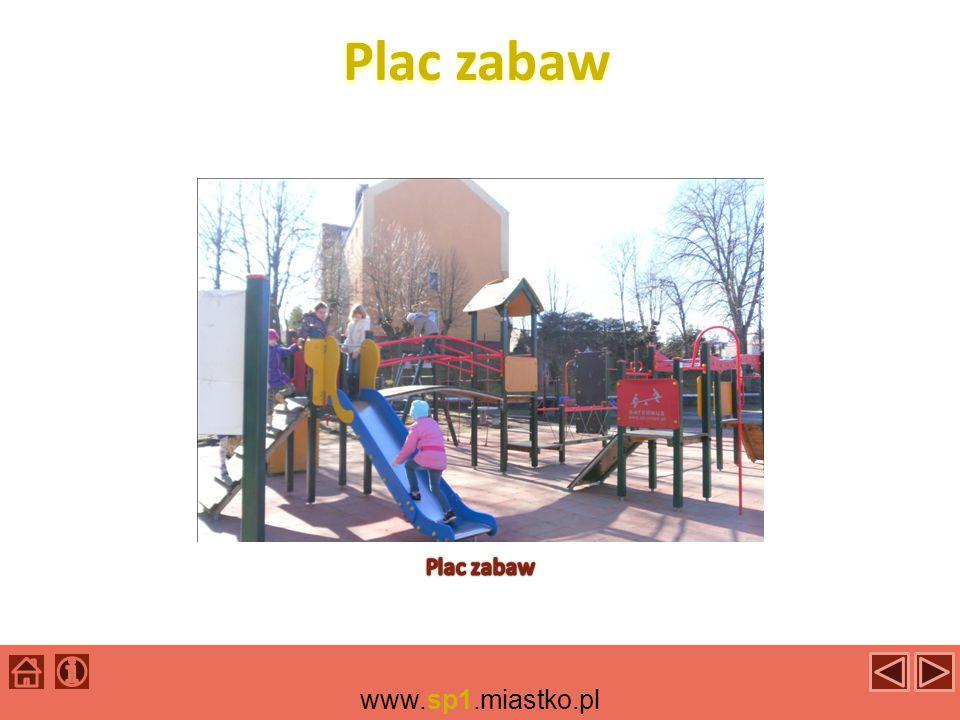 Plac zabaw Plac zabaw www.sp1.miastko.pl