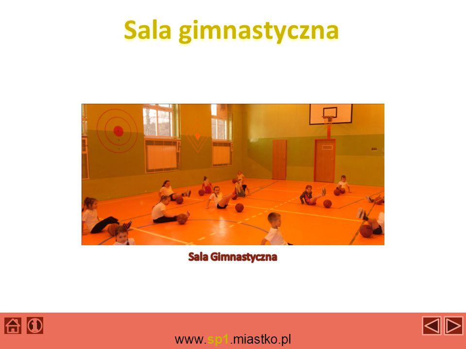 Sala gimnastyczna Sala Gimnastyczna www.sp1.miastko.pl