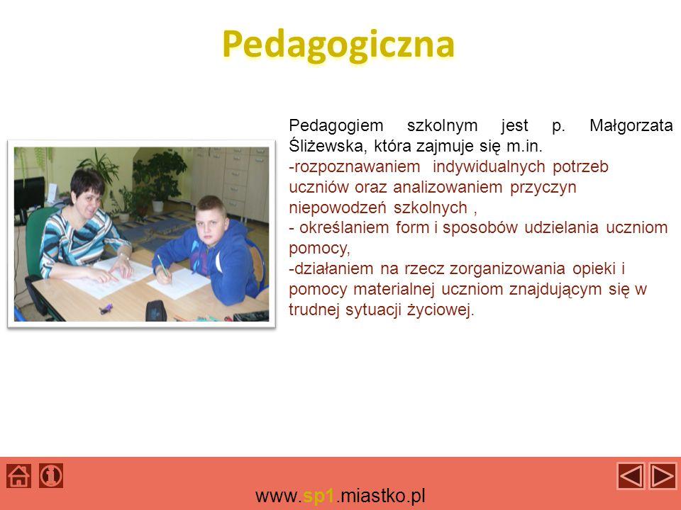 Pedagogiczna www.sp1.miastko.pl