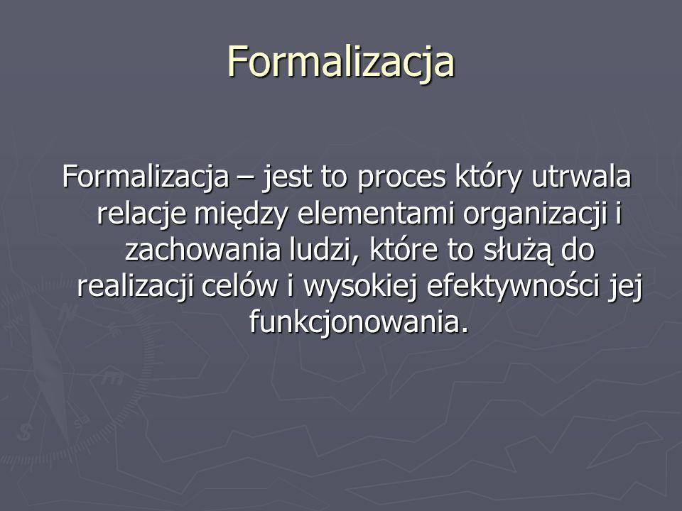 Formalizacja