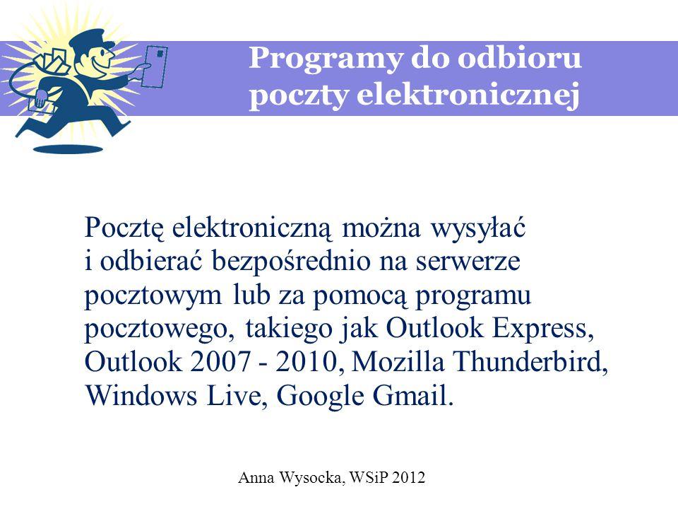 Programy do odbioru poczty elektronicznej