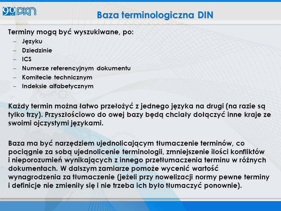 Baza terminologiczna DIN
