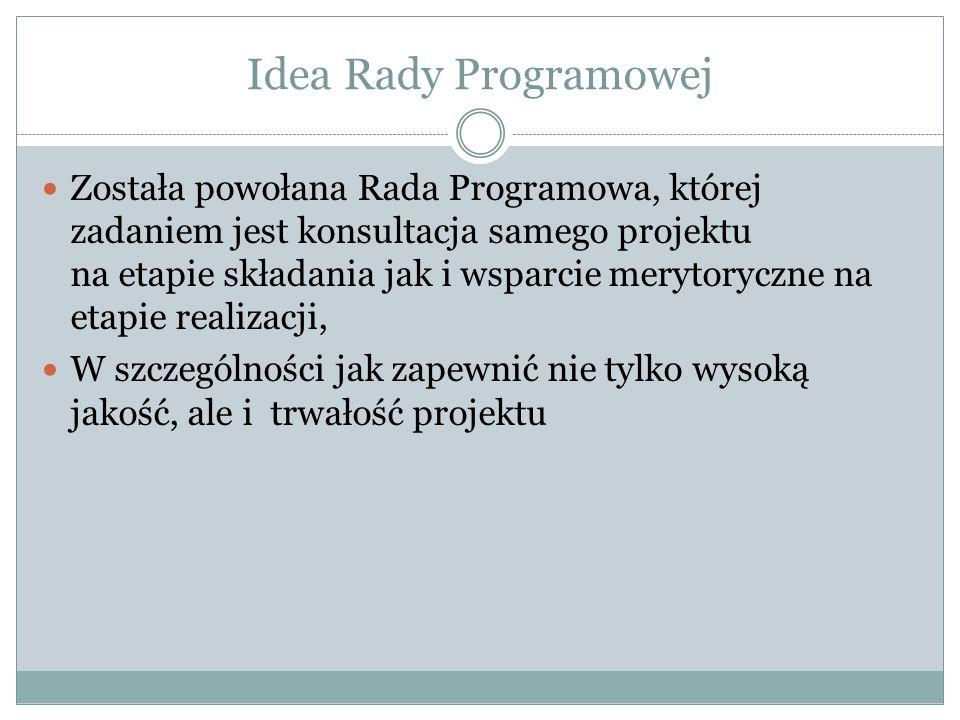Idea Rady Programowej