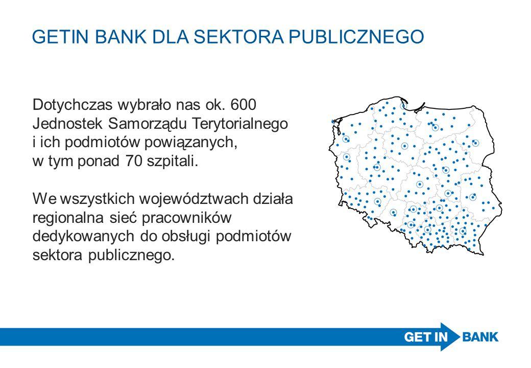 GETIN BANK DLA SEKTORA PUBLICZNEGO