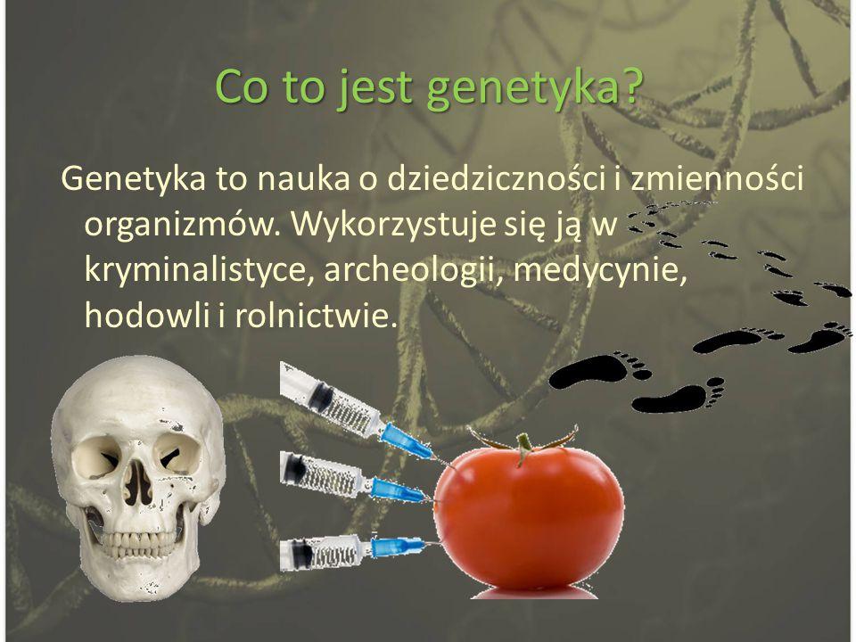 Co to jest genetyka