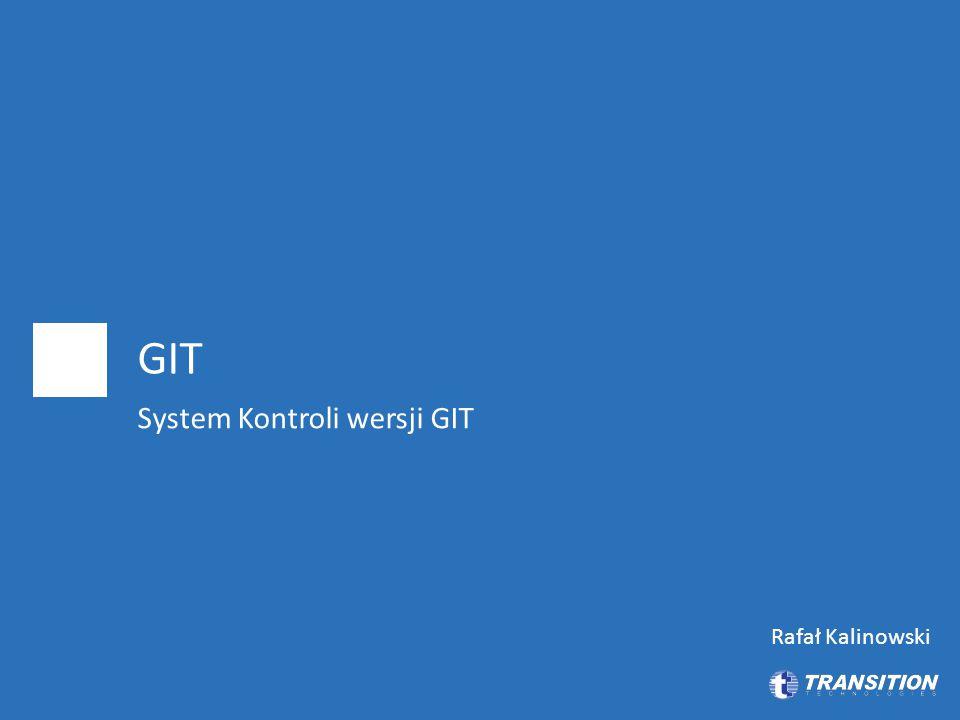 System Kontroli wersji GIT