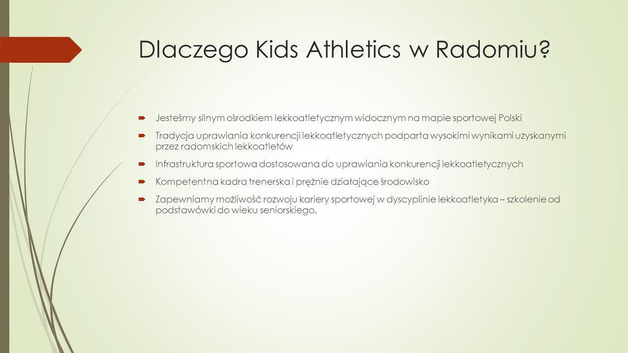 Dlaczego Kids Athletics w Radomiu