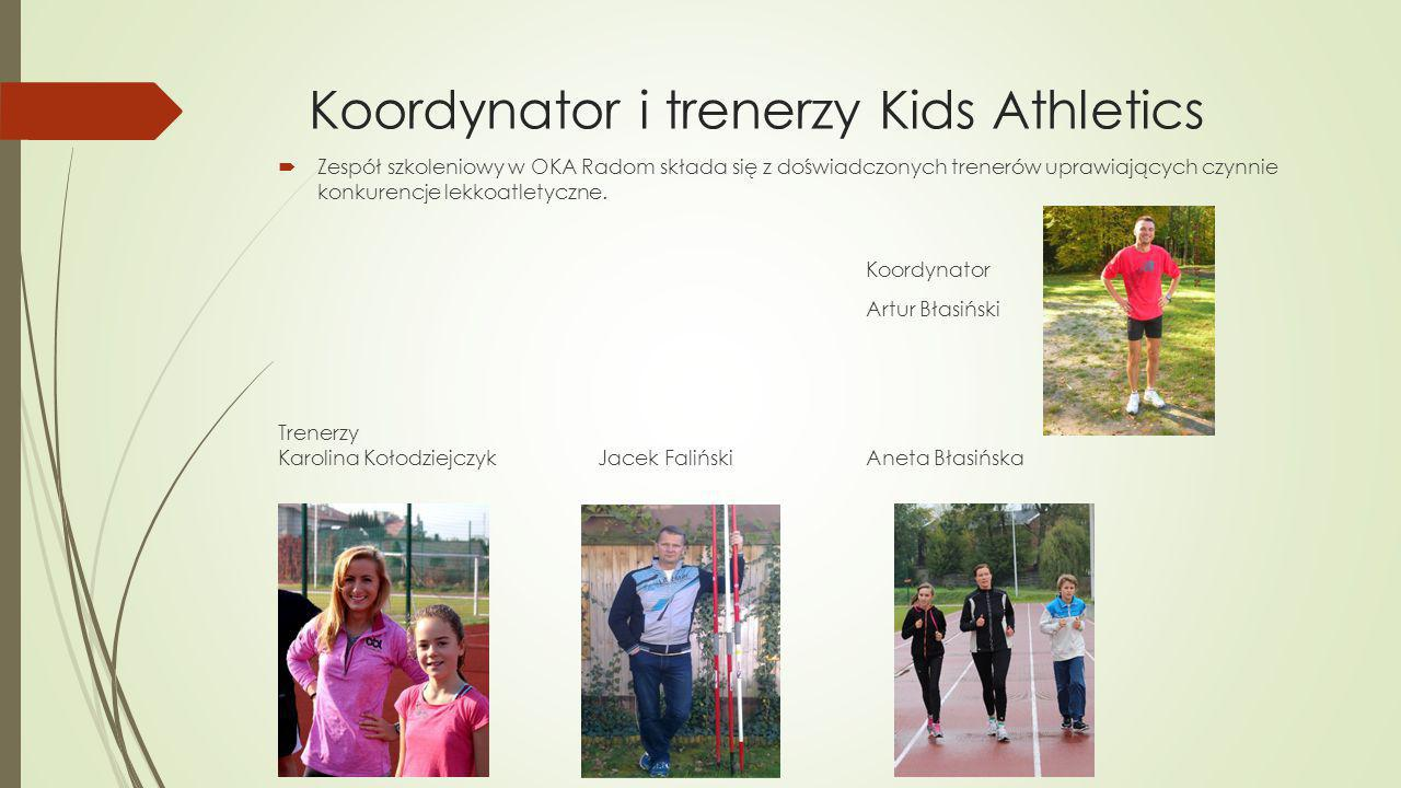 Koordynator i trenerzy Kids Athletics