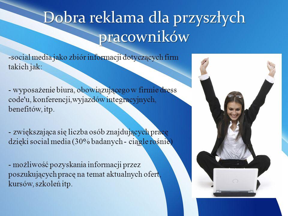 Dobra reklama dla przyszłych pracowników