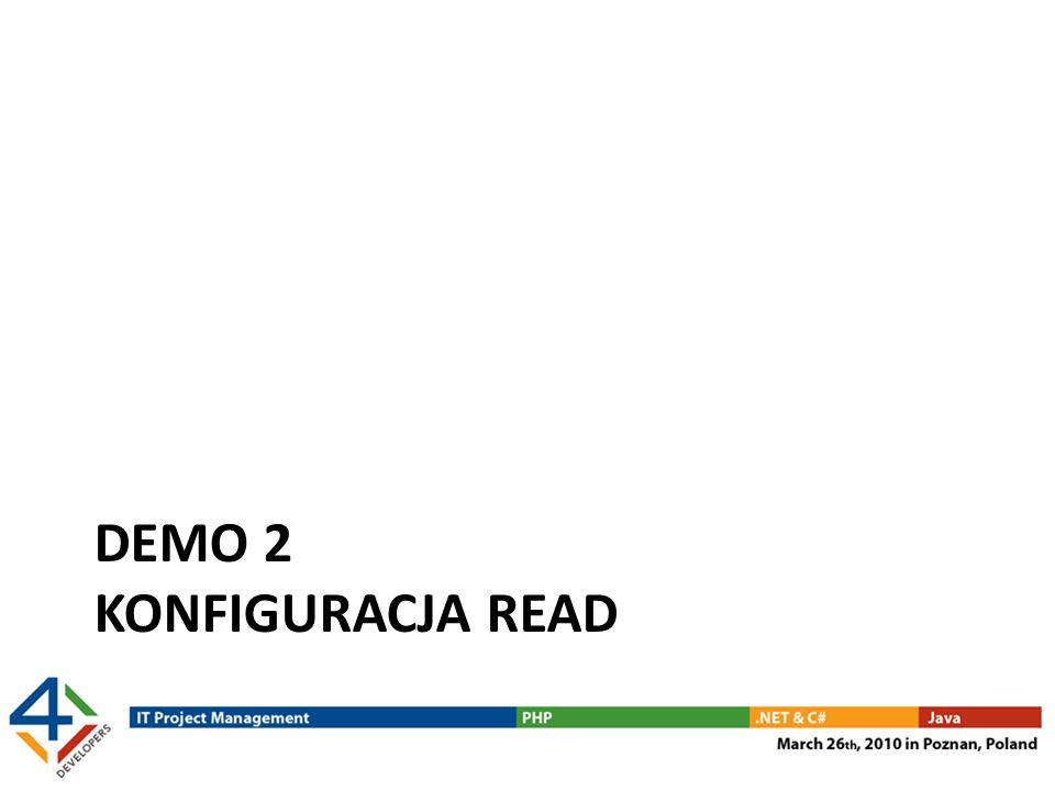 Demo 2 konfiguracja read