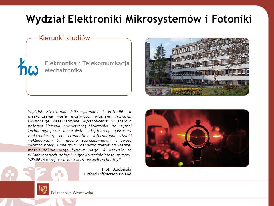 Wydział Elektroniki Mikrosystemów i Fotoniki