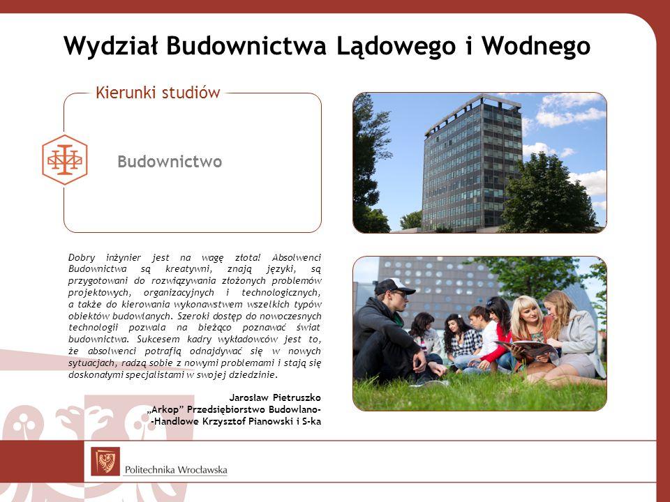 Wydział Budownictwa Lądowego i Wodnego