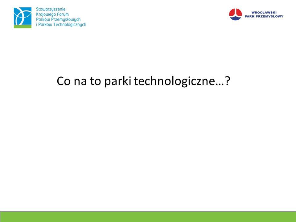 Co na to parki technologiczne…