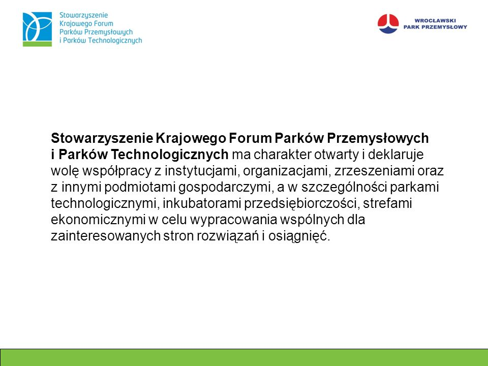 Stowarzyszenie Krajowego Forum Parków Przemysłowych