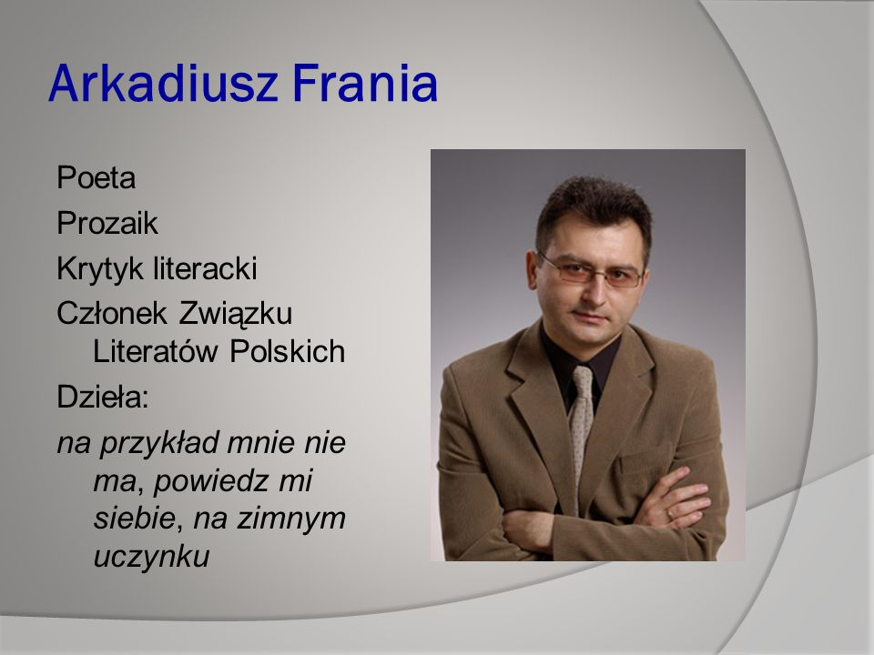 Arkadiusz Frania