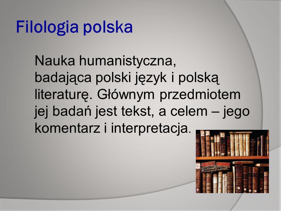 Filologia polska