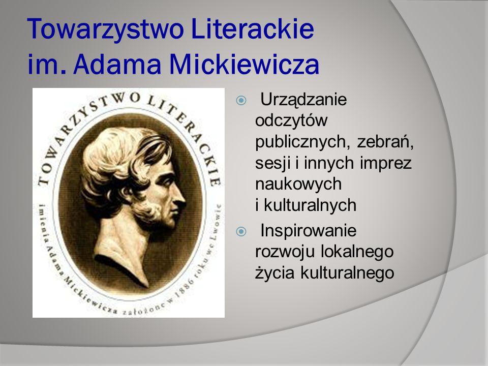 Towarzystwo Literackie im. Adama Mickiewicza
