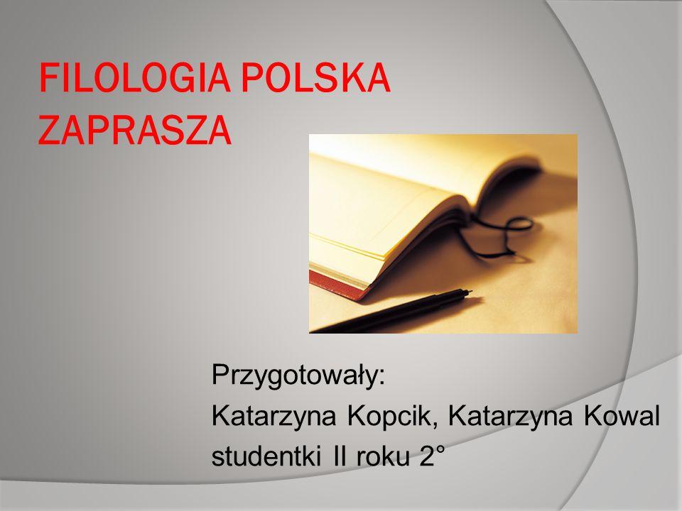 FILOLOGIA POLSKA ZAPRASZA