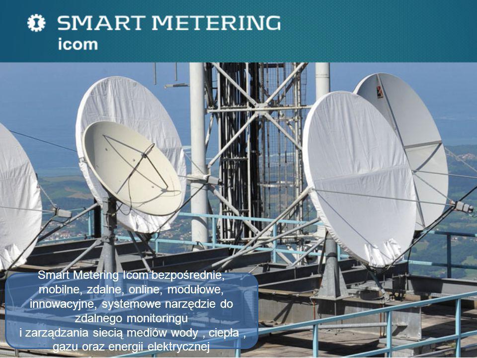 Smart Metering Icom bezpośrednie, mobilne, zdalne, online, modułowe, innowacyjne, systemowe narzędzie do zdalnego monitoringu