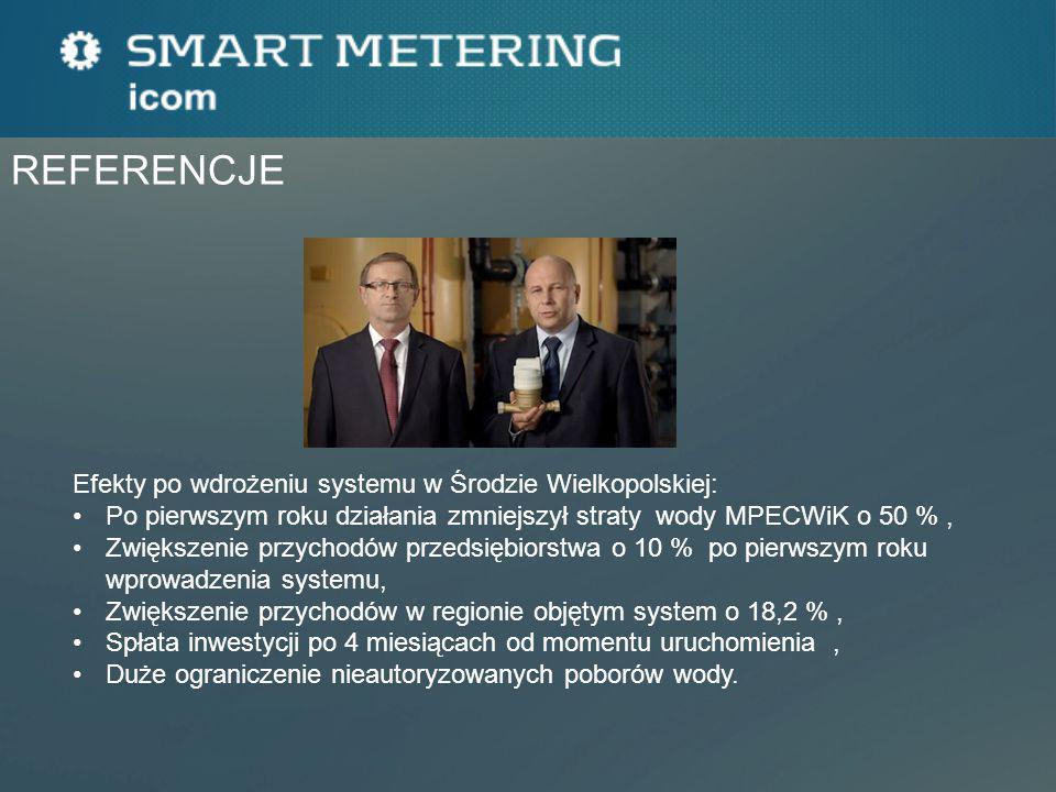 REFERENCJE Efekty po wdrożeniu systemu w Środzie Wielkopolskiej: