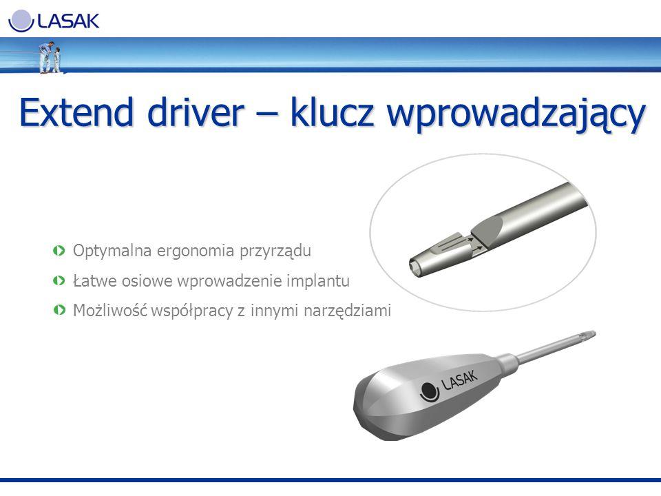 Extend driver – klucz wprowadzający