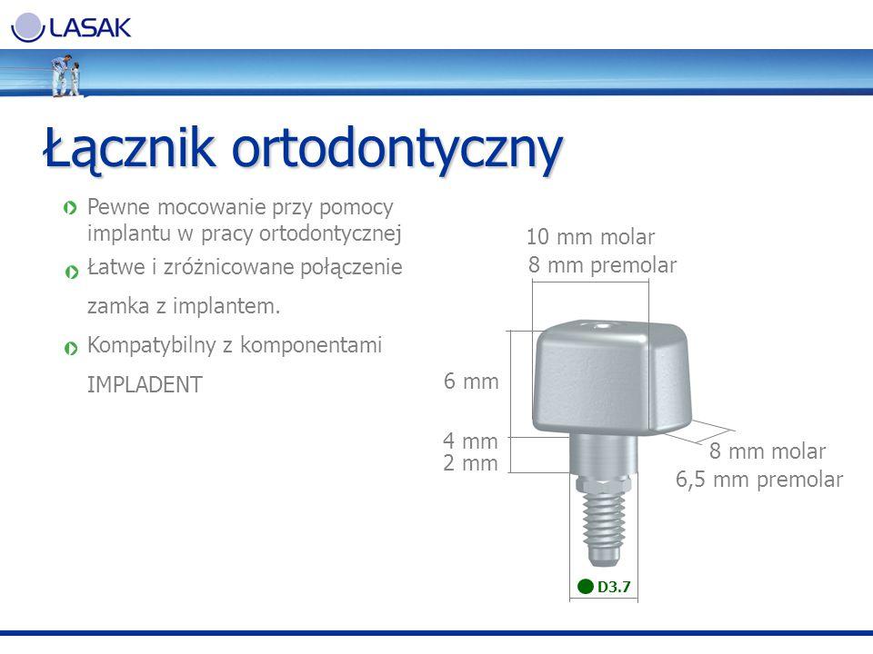 Łącznik ortodontyczny