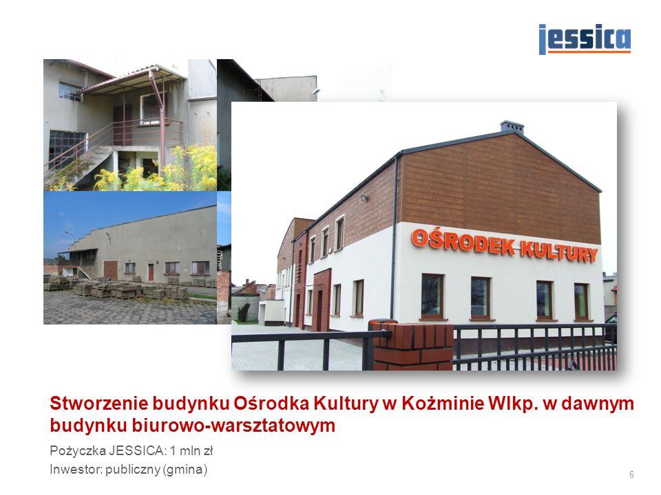 Stworzenie budynku Ośrodka Kultury w Kożminie Wlkp