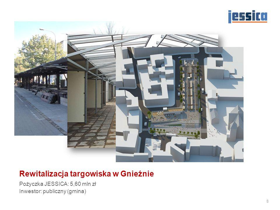 Rewitalizacja targowiska w Gnieźnie