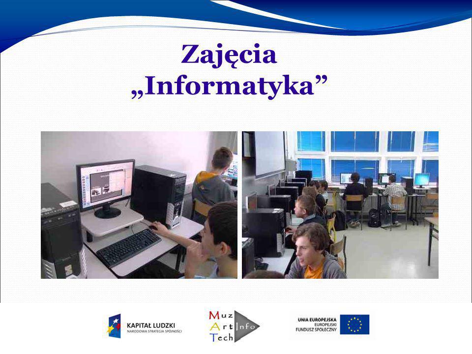 """Zajęcia """"Informatyka"""