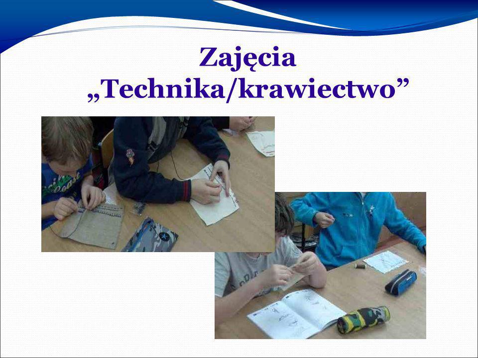 """Zajęcia """"Technika/krawiectwo"""