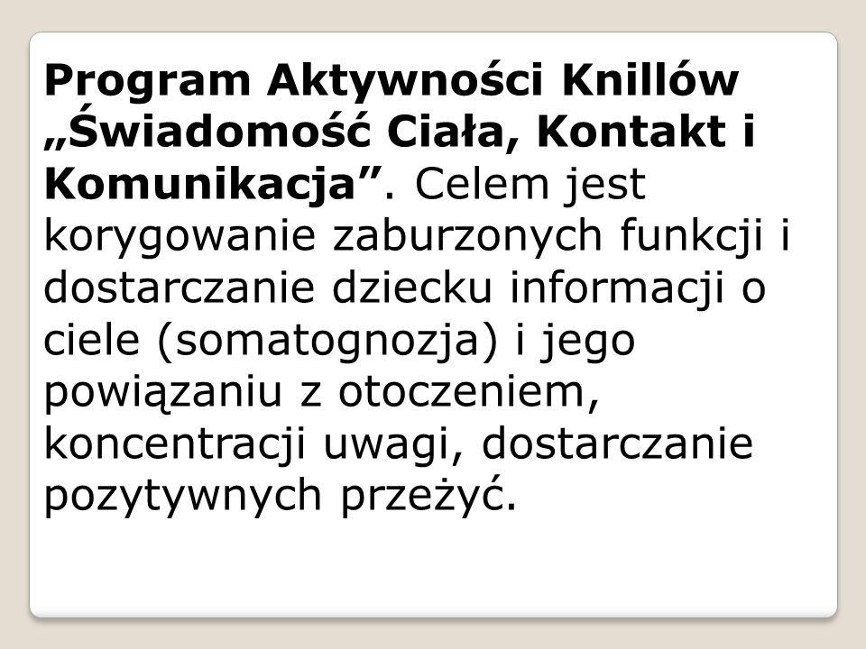 """Program Aktywności Knillów """"Świadomość Ciała, Kontakt i Komunikacja"""