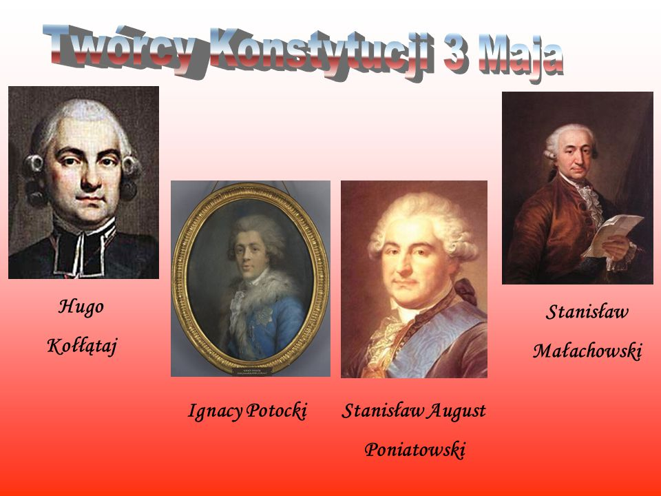 Twórcy Konstytucji 3 Maja
