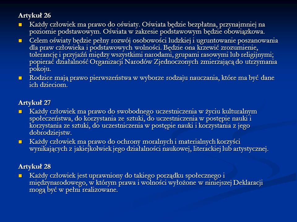 Artykuł 26
