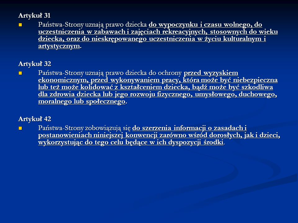 Artykuł 31