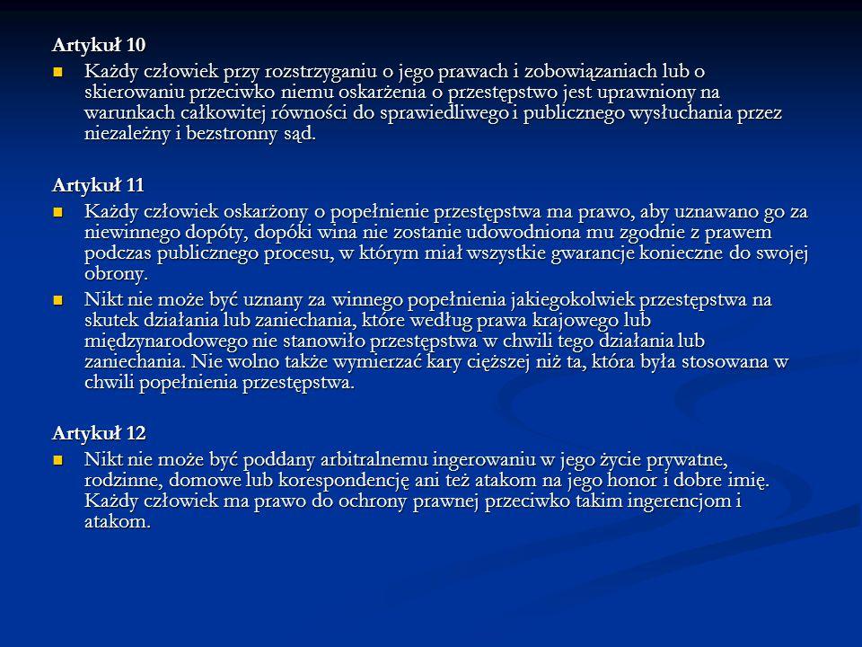 Artykuł 10