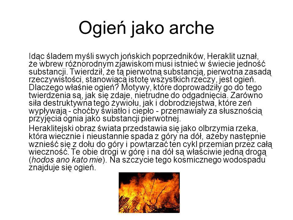 Ogień jako arche