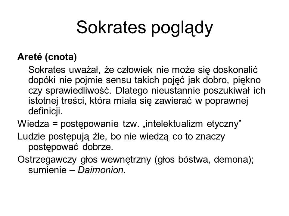 Sokrates poglądy Areté (cnota)