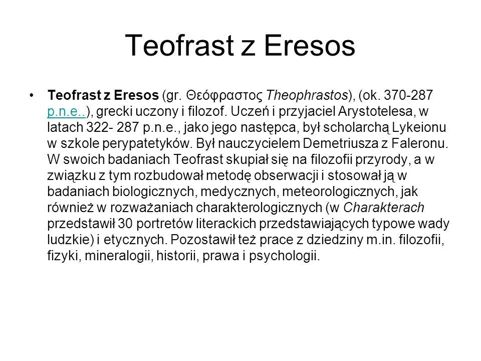 Teofrast z Eresos