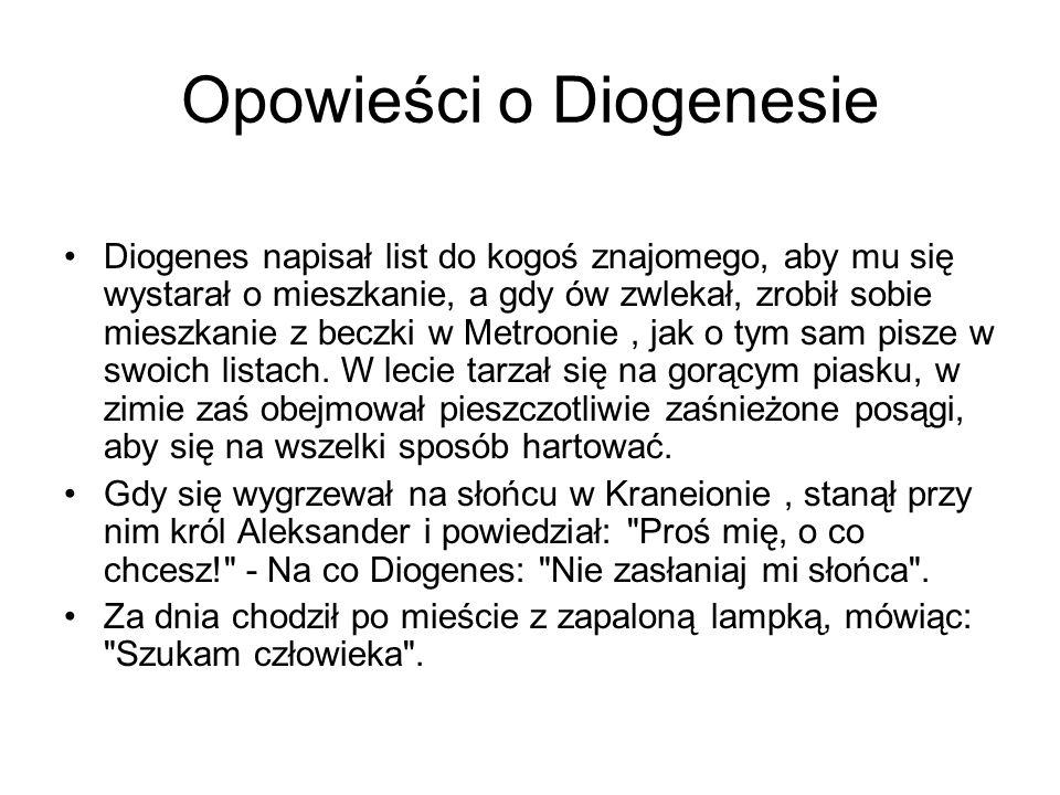 Opowieści o Diogenesie