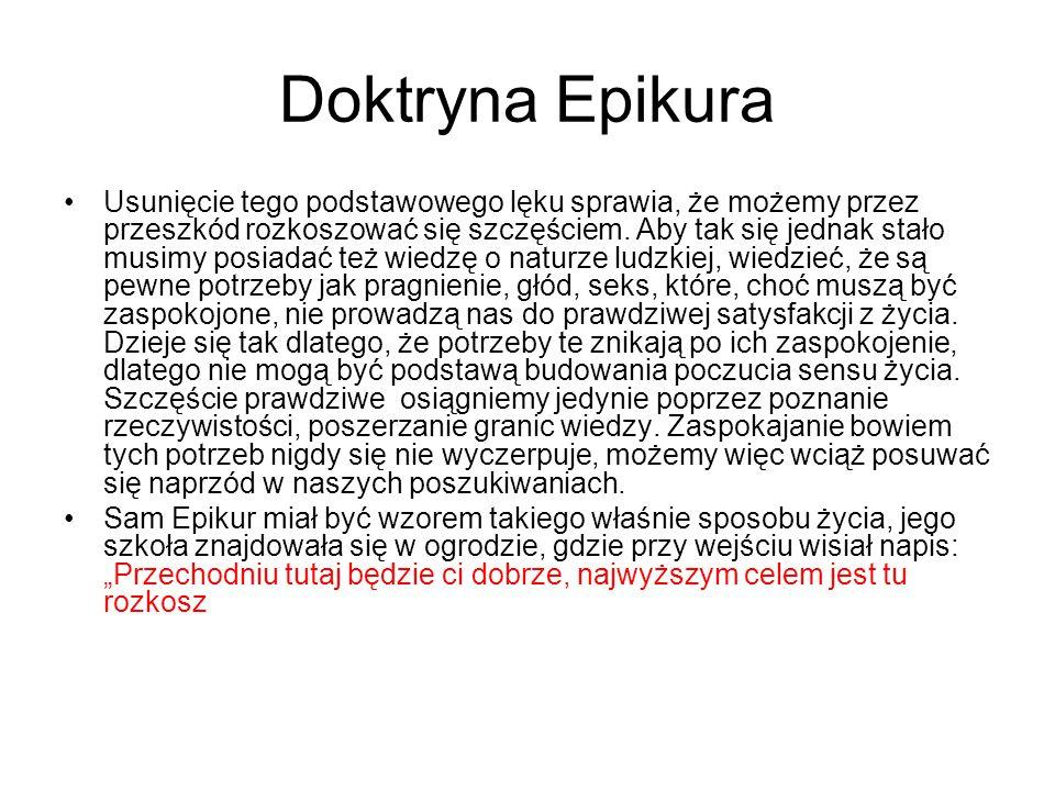 Doktryna Epikura
